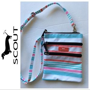 NWOT SCOUT SALLY GO LIGHTLY STRIPED CROSSBODY